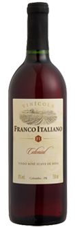 Compro Vinho Franco Italiano Rose Suave