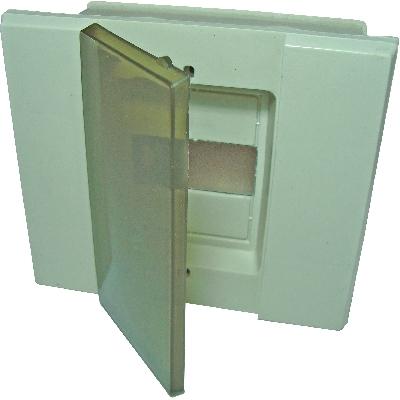 Compro Centro de Distribuição p Embutir c/ porta Acrilica
