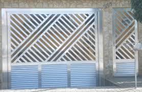 Compro Portões de aluminio