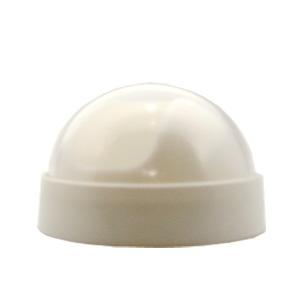 Compro Dome Branco com Lente Cristal