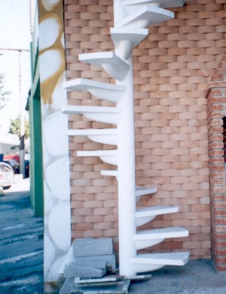 Escadas Caracol Escadas Caracol Com Degraus de
