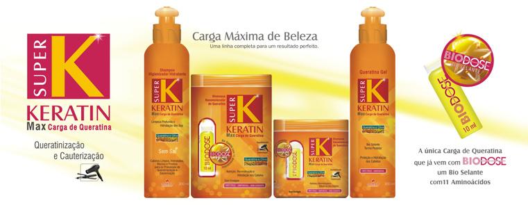 Compro Linha Super K Keratin