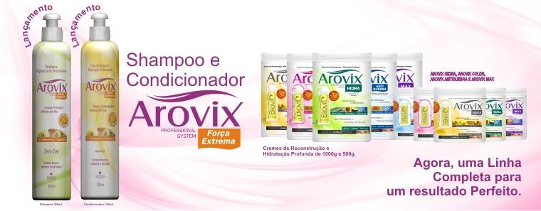 Compro Arovix - shampoo e condicionador