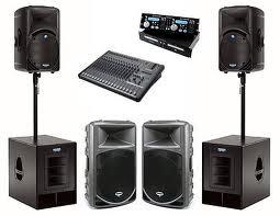 Compro Sistemas de sonorização