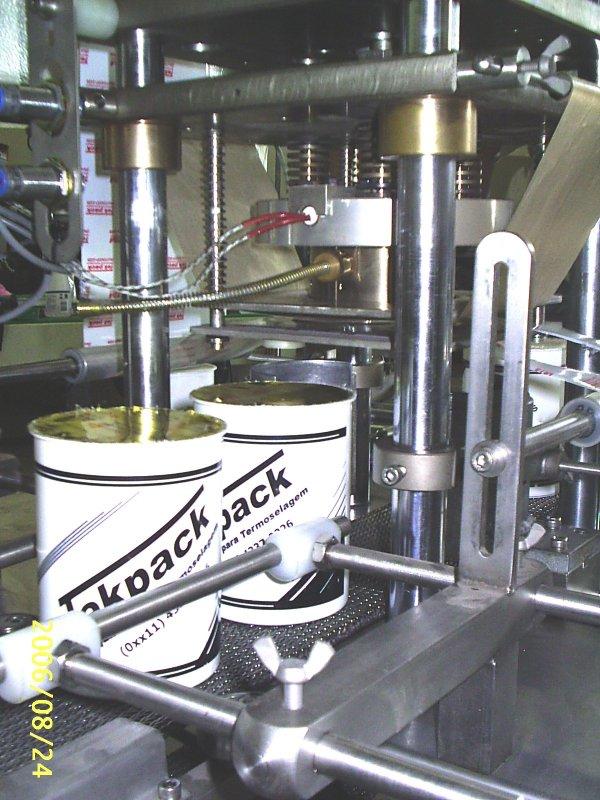 Compro Seladoras TEKPACK para aplicação de SELO plastico no BOCAL de Potes, Frascos ou Bandejas