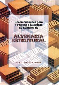 Compro Recomendações para o Projeto e Execução de Edifícios de ALVENARIA ESTRUTURAL