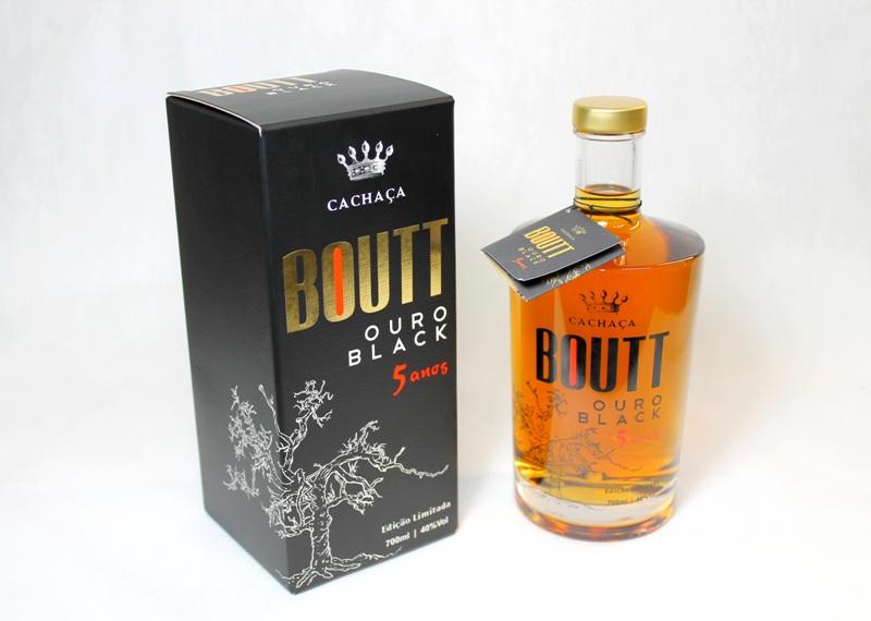 Compro Cachaça BOUTT OURO Black 5 anos