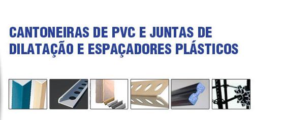 Compro RS PVC® CANTONEIRAS PERFIL GUARDA VIVOS PLÁSTICAS PVC RS PVC® JUNTA DILATAÇÃO PLÁSTICAS ESPAÇADORES PLÁSTICOS RS PVC®