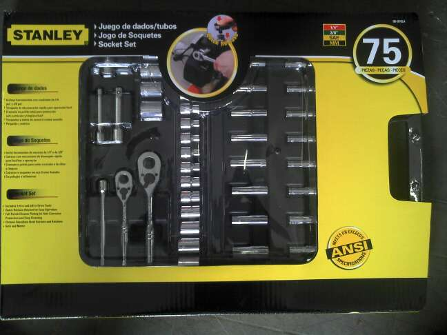 Compro Kit Stanley 75 Pçs