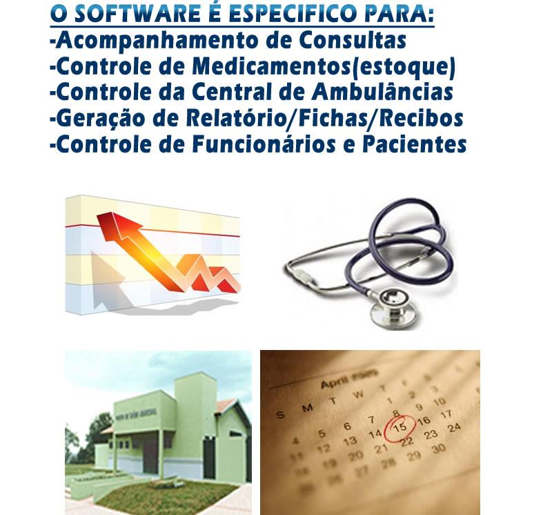 Compro Controle de Atendimentos a Postos de Saúde, clinicas, centrais de ambulâncias, e similares