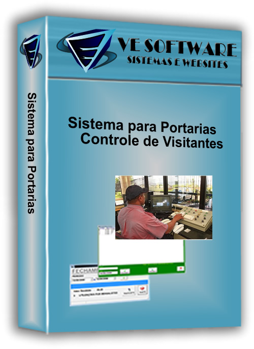 Comprar Sistema controle de portaria, pátios, garagens e similares, possui telas intuitivas