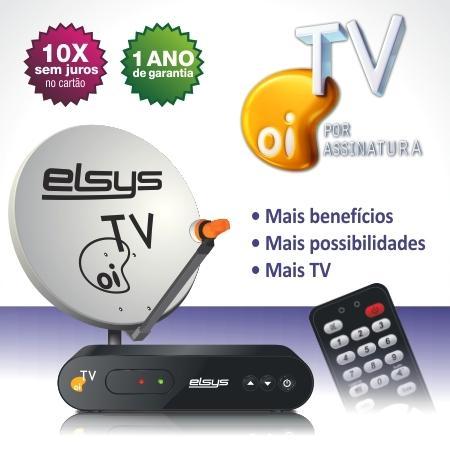 Compro Kit Oi TV Ligado - Receptor Eco + barato do mercado