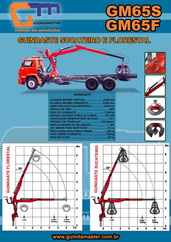 Compro Guindaste GM65S