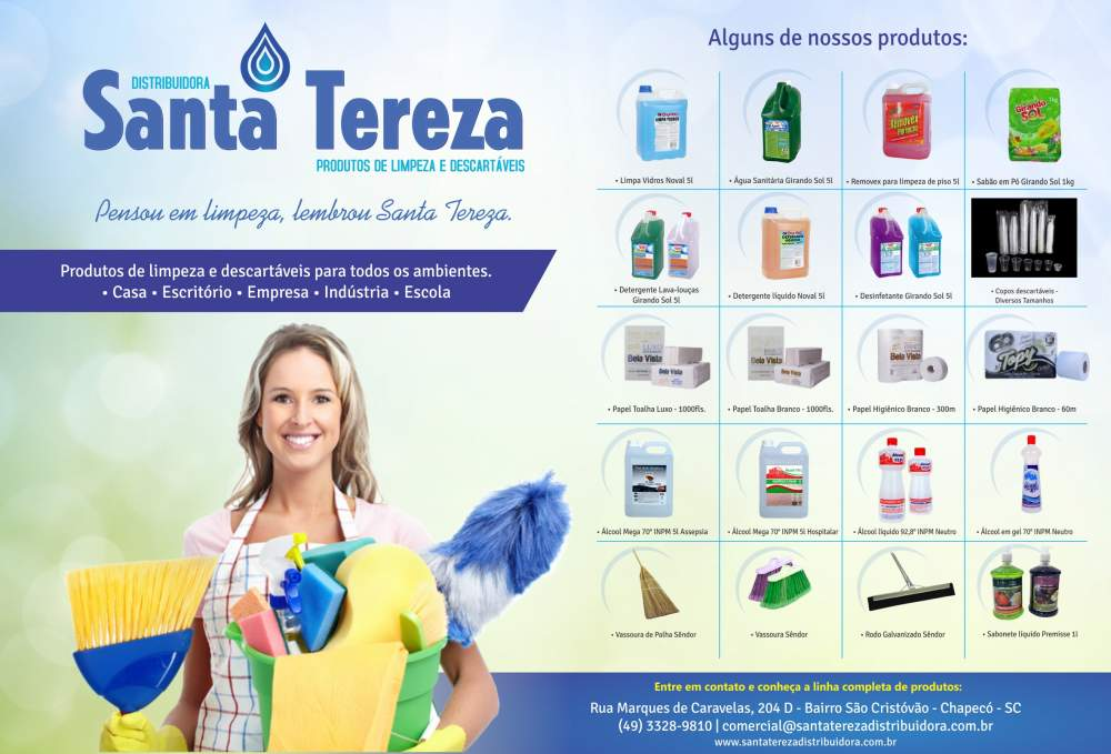Compro Produtos de limpeza