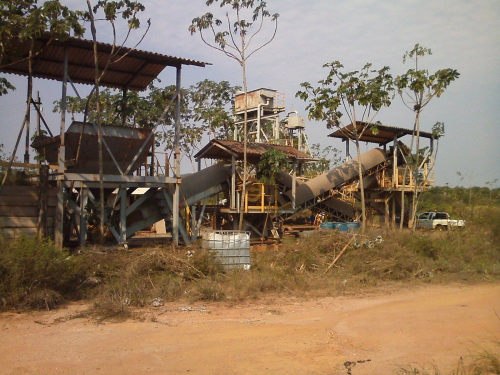 Compro Planta para Mineração de Ouro