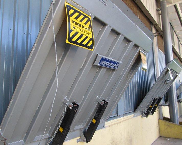 Compro Niveladora de Doca Manual Mecânica Frontal | Capacidade de carga: 5000kg e 6000kg
