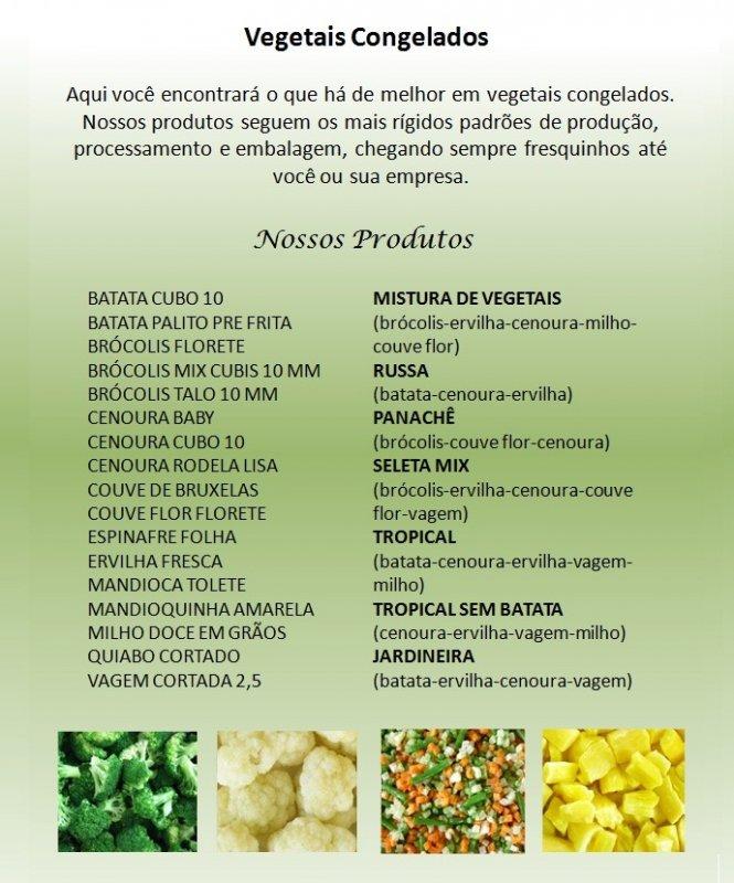 Compro Vegetais Congelados