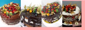Compro Naked Cakes para festas e eventos