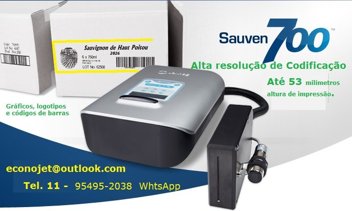 Compro Codificador para caixa ou grandes embalagem