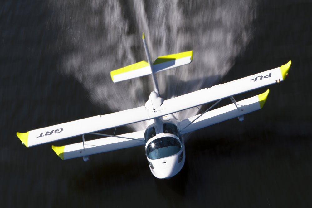 Compro Super Petrel LS Amphibious Aircraft