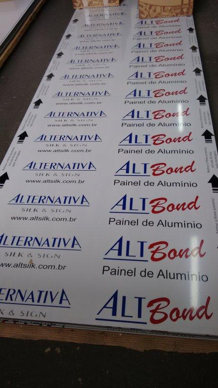 Compro Painel de Alumínio - ACM