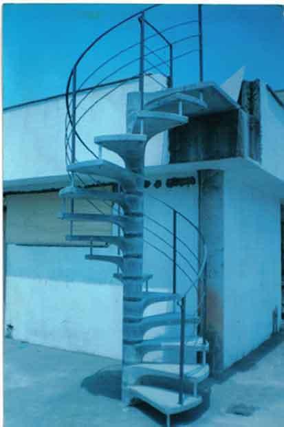 Compro Escada pré-moldadas