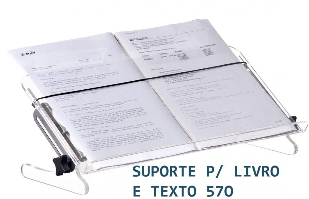 Comprar Suporte para Livro e Texto Acrílico - 560