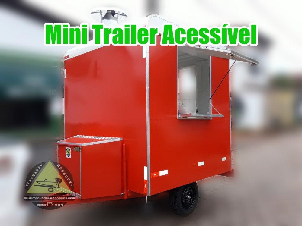 Comprar Mini Trailer modelo Acessível