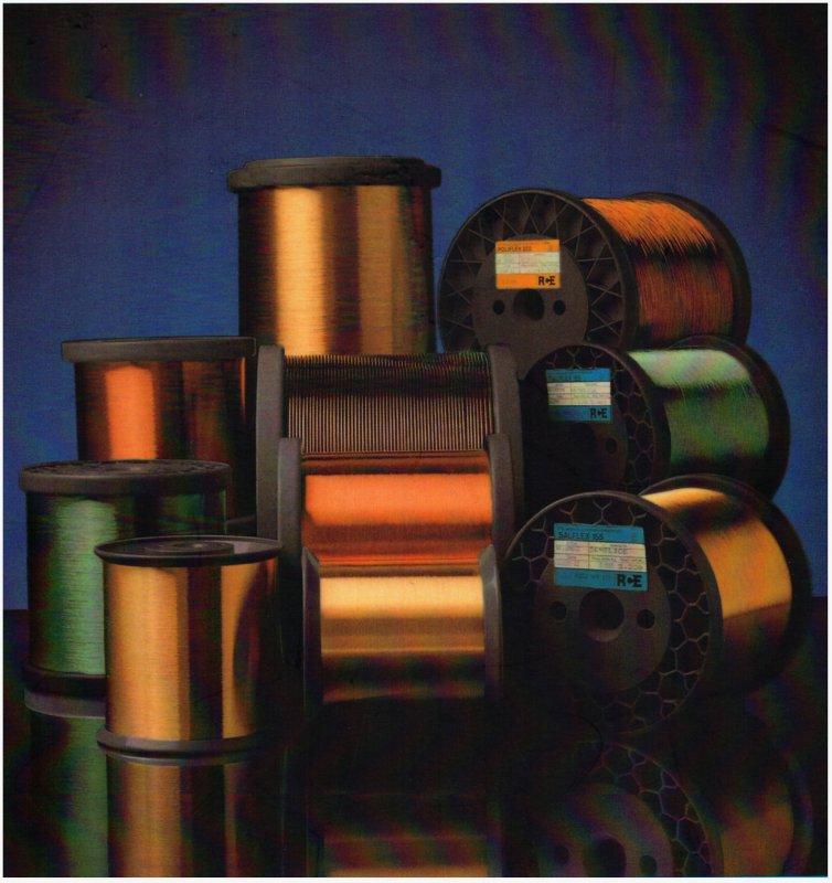 Comprar Alambre de Cobre esmaltado, Alambre Magneto, enamelled copper wire, Continuously Transposed Conductors (CTC)