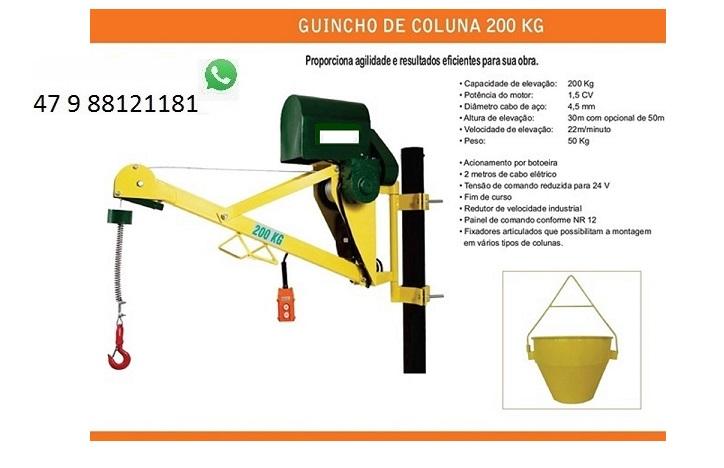 Comprar Guincho de columa reforcado 200 kl