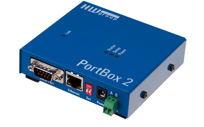 Comprar PORTBOX2 - Conversor RS232/RS485 para Ethernet