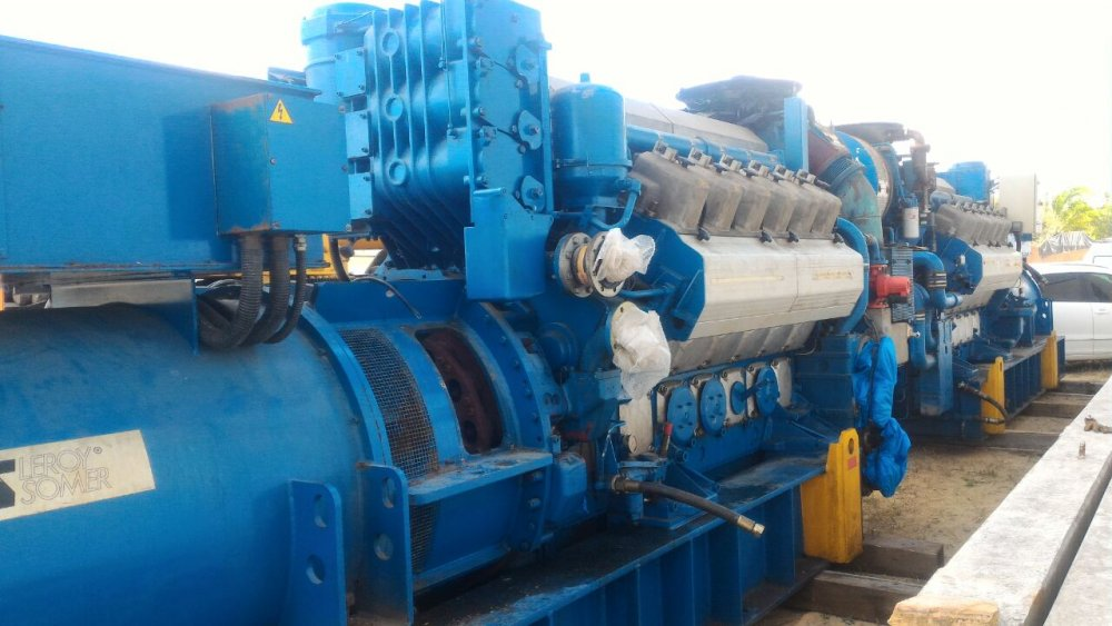 POWER SET GAS GENERATOR (GNV/GLP) 2500 KVA EACH