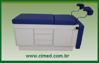Comprar Mesa Ginecológica em MDF BRANCO Marca CIMED: