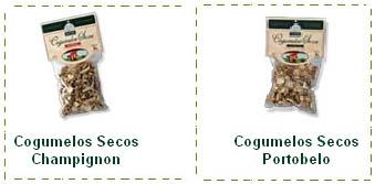 Compro Cogumelos secos Portobelo
