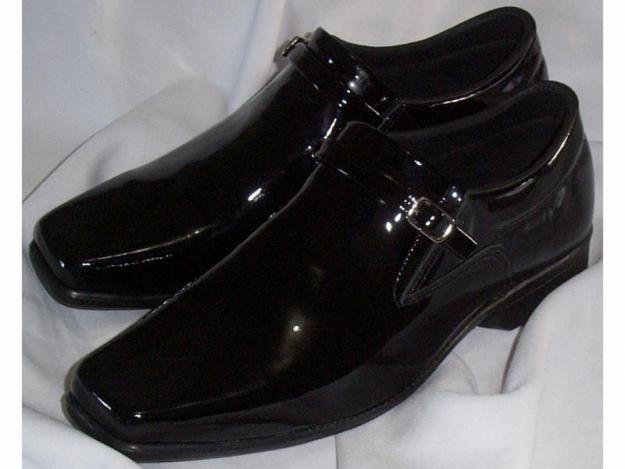 5a1387001 Sapato Masculino Couro Verniz Legítimo - Direto Da Fábrica buy in ...