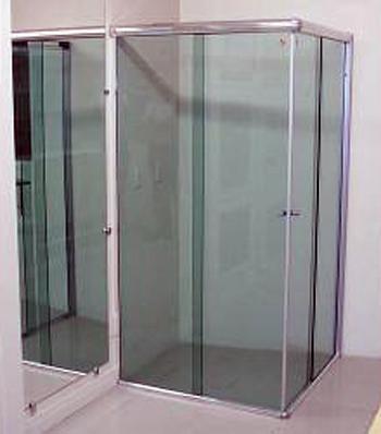 Compro Cabines chuveiro em vidro