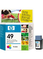 Compro Cartucho original HP 600 51649 an color