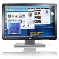 Compro Monitor Hp22-Inch Wide LCD