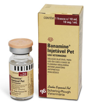 Medicamento Banamine® Injetavel Pet