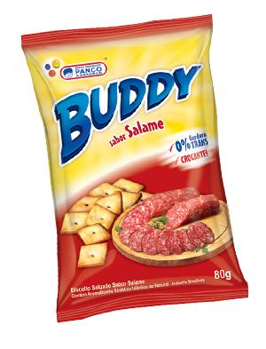 Salgadinho Buddy Salame - 80g