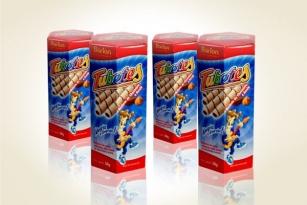 Compro Tubetes recheado sabor Chocolate e Avelã
