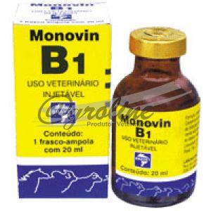 Compro Monovin B.1 20 ML - Bravet (Vitamina B1)