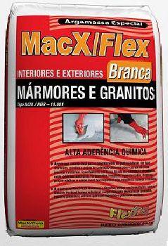 Compro Argamassa MacX/Flex AC-III Marmores e Granitos (Branca)