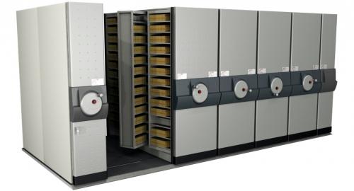 Compro Arquivos Deslizantes - SD 1041 AXIS Microfilmes