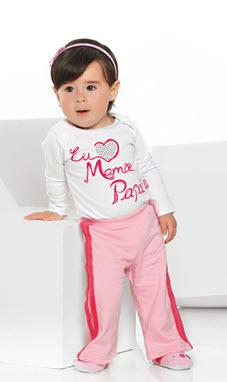 Moda bebê feminino