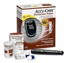 Accu-Chek Performa NANO Monitor de Glicemia.