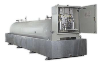 Sistema de odorização de gás.