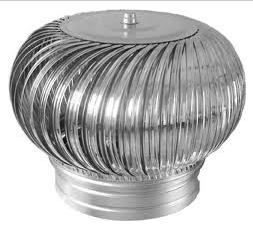 """Compro Exaustor Eólico Giratório Líder modelo( LDR Ø24"""" ) ."""