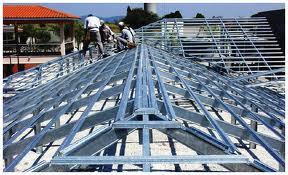 Compro Estrutura de aço para telhados.