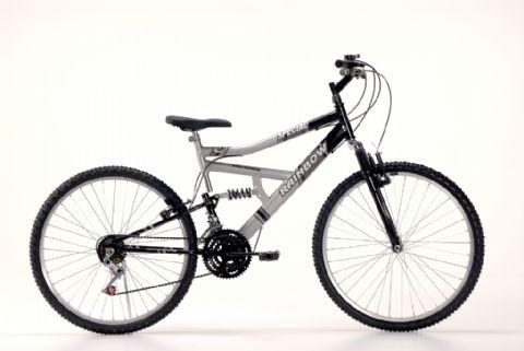 Compro Bike 26 Full Susp.Special Preto/Prata
